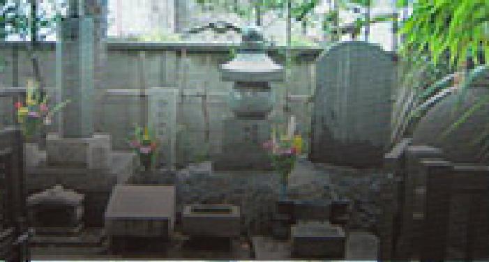 弥勒寺の杉山和一墓所と鍼供養塔